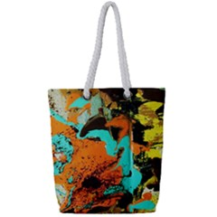 Fragrance Of Kenia 5 Full Print Rope Handle Tote (small) by bestdesignintheworld