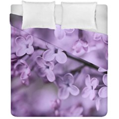 Lilac Duvet Cover Double Side (california King Size)