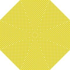Polka Dots Yellow Hook Handle Umbrellas (medium) by goodart