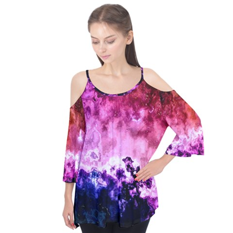 Ghost Gear   Astral Projection   Flutter Sleeve Tee  by GhostGear