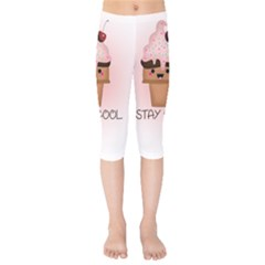 Stay Cool Kids  Capri Leggings  by ZephyyrDesigns