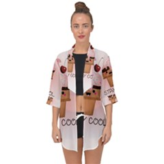 Stay Cool Open Front Chiffon Kimono by ZephyyrDesigns