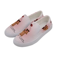 Stay Cool Women s Canvas Slip Ons by ZephyyrDesigns