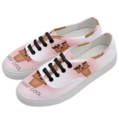 Stay Cool Women s Classic Low Top Sneakers by ZephyyrDesigns