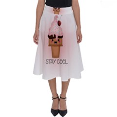 Stay Cool Perfect Length Midi Skirt