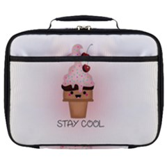 Stay Cool Full Print Lunch Bag by ZephyyrDesigns