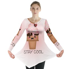 Stay Cool Long Sleeve Tunic  by ZephyyrDesigns