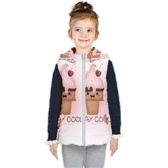 Stay Cool Kid s Hooded Puffer Vest by ZephyyrDesigns