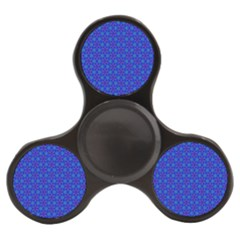 Purple Blue Pattern Background With Triangles Finger Spinner by goodart