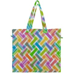 Cool Abstract Pattern Colorful Canvas Travel Bag by goodart