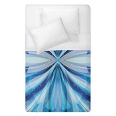 Abstract Blue Duvet Cover (single Size) by LoolyElzayat