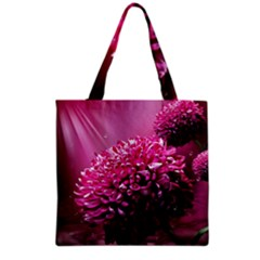 Majestic Flowers Grocery Tote Bag by LoolyElzayat