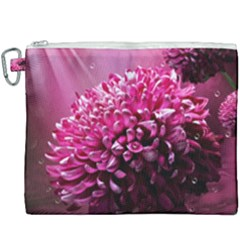 Majestic Flowers Canvas Cosmetic Bag (xxxl) by LoolyElzayat