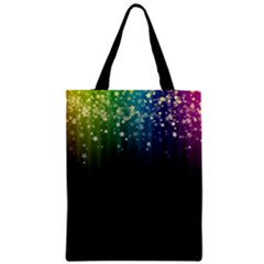 Colorful Space Rainbow Stars Classic Tote Bag