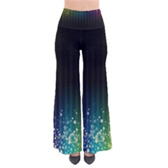 Colorful Space Rainbow Stars So Vintage Palazzo Pants