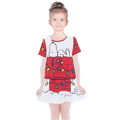 Peanuts Snoopy Kids  Simple Cotton Dress