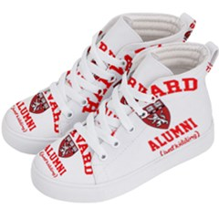 Harvard Alumni Just Kidding Kid s Hi Top Skate Sneakers by Samandel