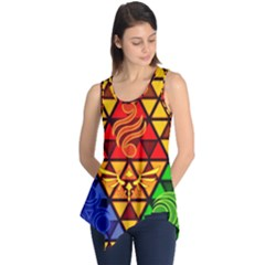 The Triforce Stained Glass Sleeveless Tunic