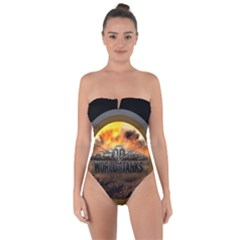 World Of Tanks Wot Tie Back One Piece Swimsuit