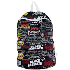Metal Bands College Foldable Lightweight Backpack