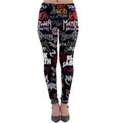 Metal Bands College Lightweight Velour Leggings
