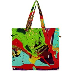 Untitled Island 6 Canvas Travel Bag