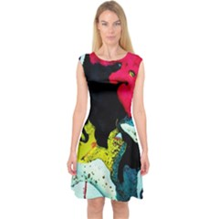Buffalo Vision Capsleeve Midi Dress