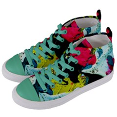 Buffalo Vision Women s Mid-top Canvas Sneakers by bestdesignintheworld