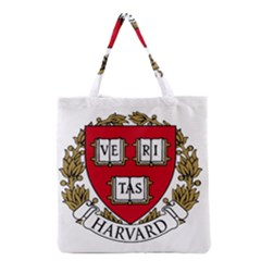 Harvard University Logo Grocery Tote Bag by Samandel