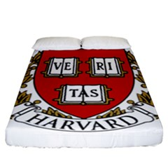 Harvard University Logo Fitted Sheet (california King Size) by Samandel