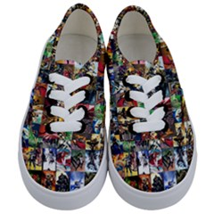 Comic Book Images Kids  Classic Low Top Sneakers