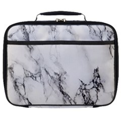 Marble Pattern Full Print Lunch Bag