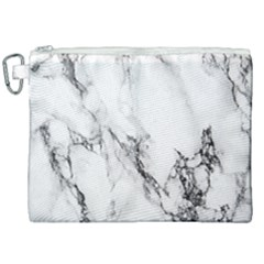 Marble Pattern Canvas Cosmetic Bag (xxl) by Samandel