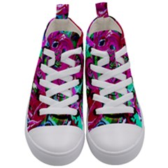 Flamingo   Child Of Dawn 2 Kid s Mid Top Canvas Sneakers
