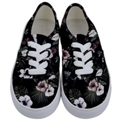Tropical Pattern Kids  Classic Low Top Sneakers