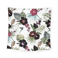 Tropical Pattern Square Tapestry (small)