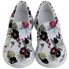 Tropical Pattern Kid s Lightweight Slip Ons by Valentinaart