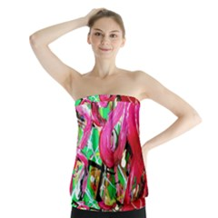 Flamingo   Child Of Dawn 9 Strapless Top by bestdesignintheworld
