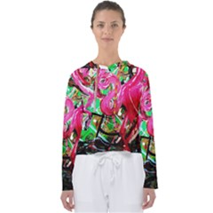 Flamingo   Child Of Dawn 9 Women s Slouchy Sweat