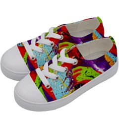 Untitled Island 5 Kids  Low Top Canvas Sneakers by bestdesignintheworld