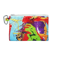 Untitled Island 5 Canvas Cosmetic Bag (medium) by bestdesignintheworld