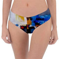 Abstract Reversible Classic Bikini Bottoms by consciouslyliving