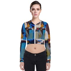 Abstract Bomber Jacket