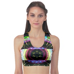 The Existence Of Neon Sports Bra by TheExistenceOfNeon2018