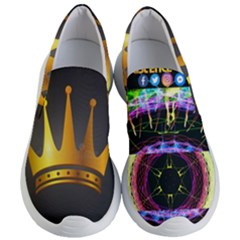Crowned Existence Of Neon Women s Lightweight Slip Ons by TheExistenceOfNeon2018