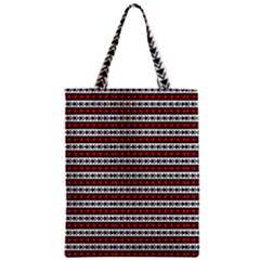 Arrow Pattern Zipper Classic Tote Bag by nomadsoul