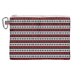 Arrow Pattern Canvas Cosmetic Bag (xl) by nomadsoul