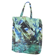 June Gloom 5 Giant Grocery Zipper Tote by bestdesignintheworld