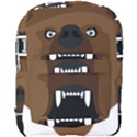 Bear Brown Set Paw Isolated Icon Full Print Backpack View1