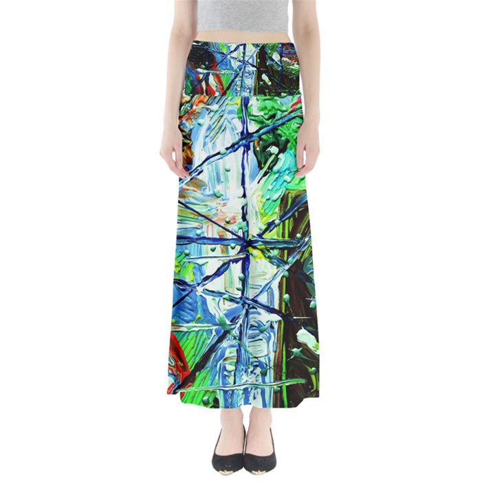 Depression 1 Full Length Maxi Skirt